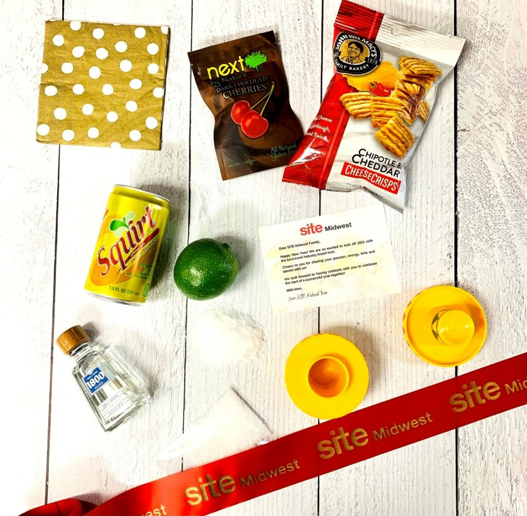 virtual event attendee gift items